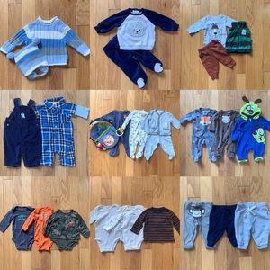Bundle Mixed Lot of Boys Clothes size 3 months